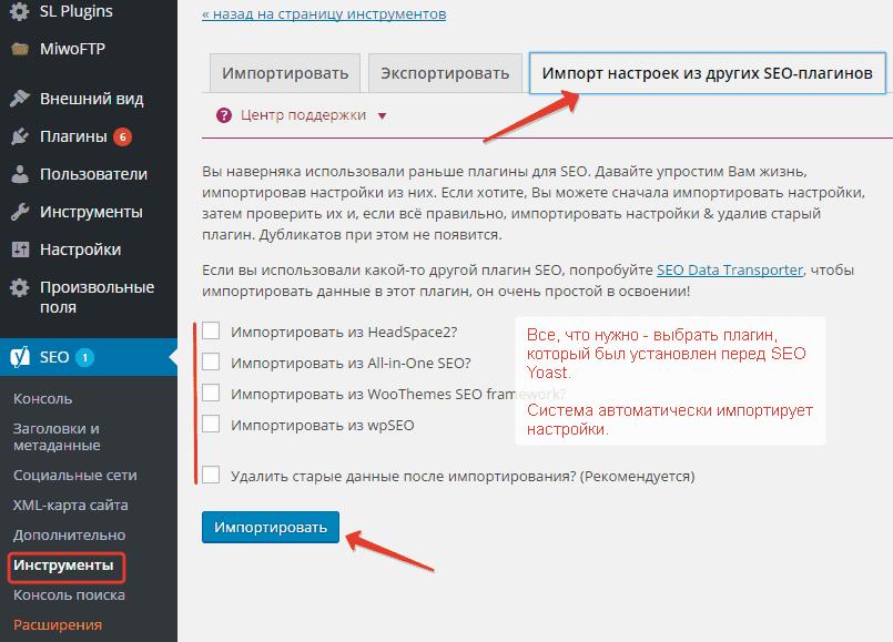 4d45bd1f6793 Настройка плагина Yoast SEO для оптимизации Wordpress  EMBO Studio ...