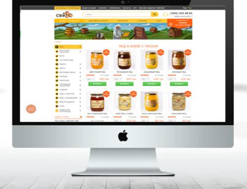 Продвижение сайта продажи меда